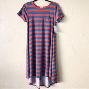 NWT LuLaRoe Carly Dress Striped